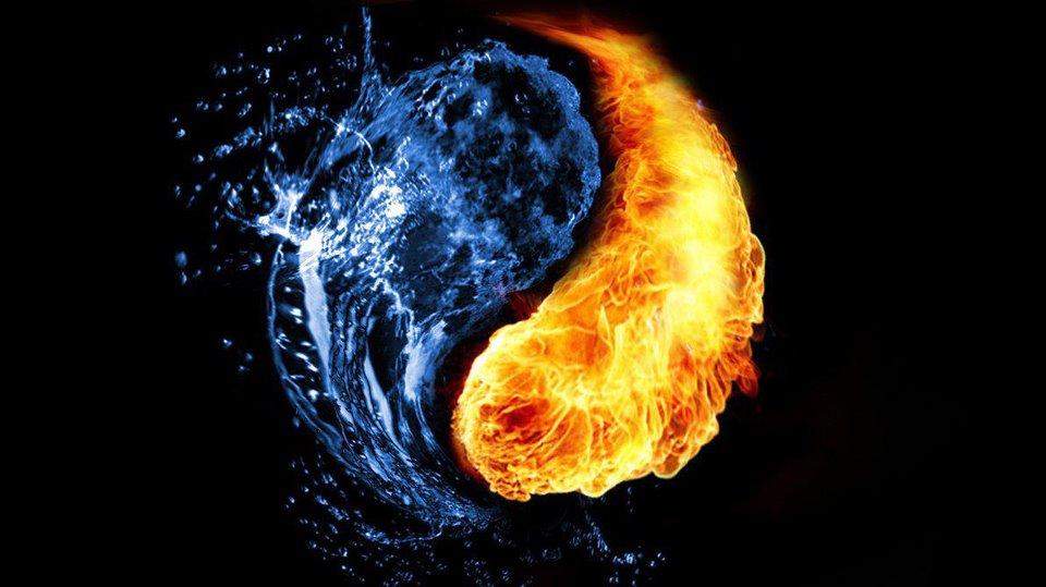 Fire Water Yin Yang